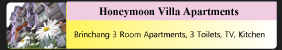 Honeymoon villa apartments