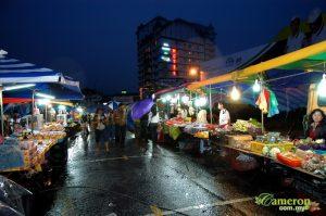 Cameron Pasar Malam stalls