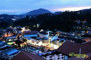 Crown imperial court cameron highlands sunset