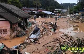 Cameron Highlands flood and landslide