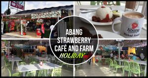 ABANG STRAWBERRY CAFÉ AND FARM