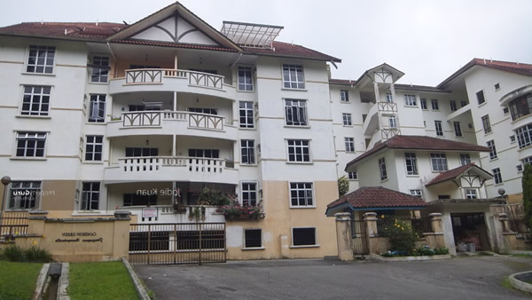 cameron highlands bougainvilla apartment