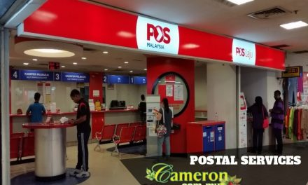 Postal Services in Cameron Highlands
