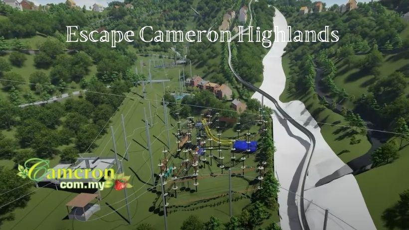 escape cameron highlands